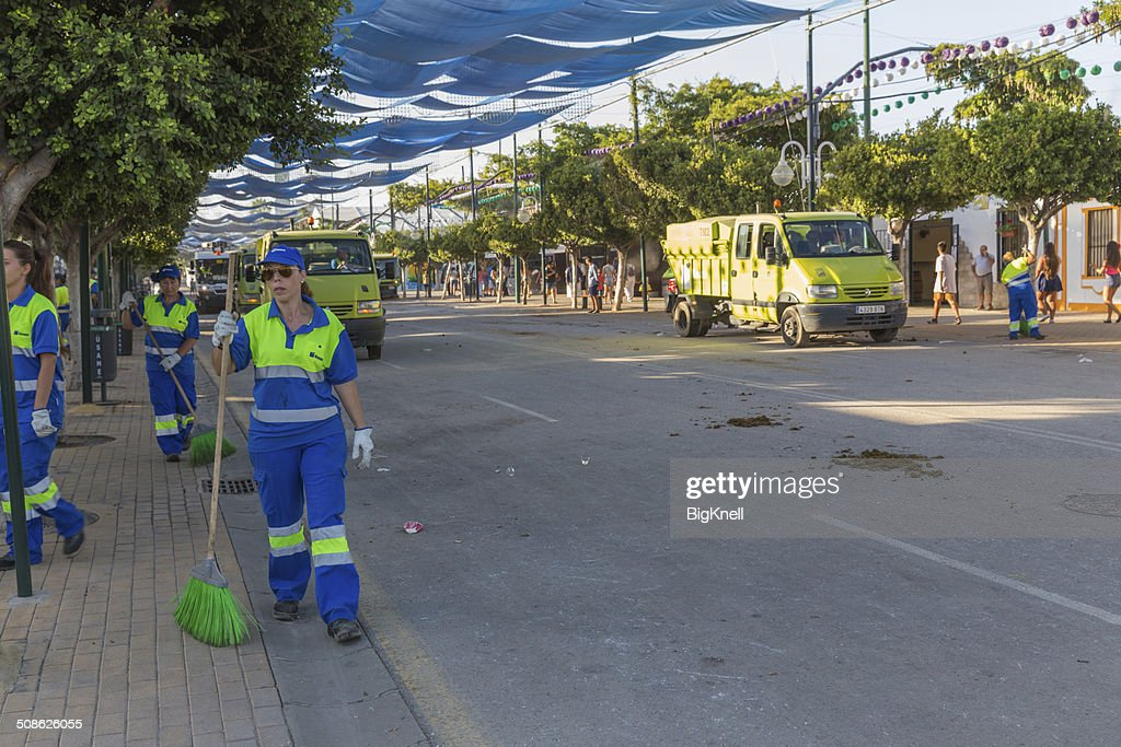 Cleaning squad : Stock Photo