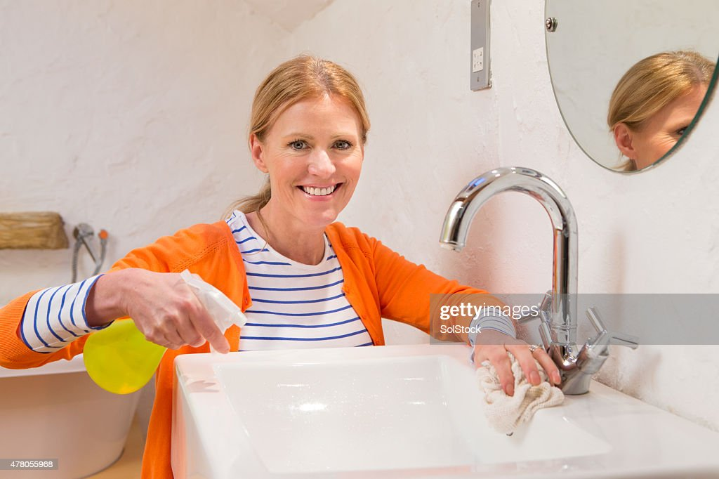 Cleaning The Sink