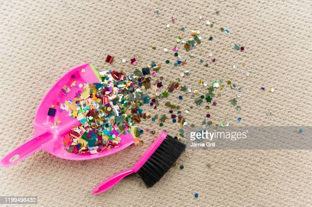 cleaning up after the party - clean up after party stock pictures, royalty-free photos & images
