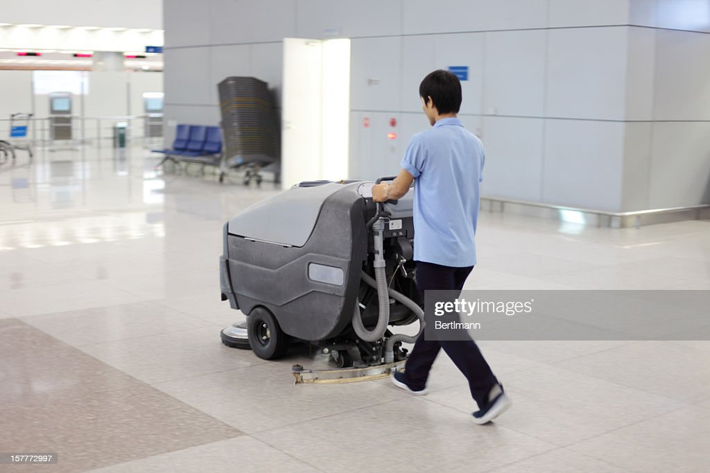 cleaning up : Stock Photo