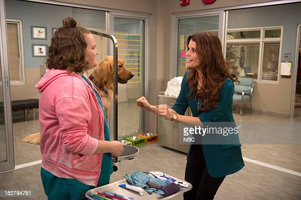 """Clean-Smelling Pirate"""" Episode 103 -- Pictured: Betsy Sodaro as Angela, JoAnna Garcia Swisher as Dorothy Crane --"""