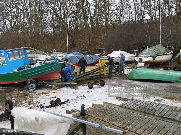CONTENT] cleanup after December flood Bodil in Bitch Haven Roskilde
