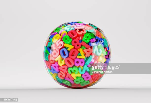 clear ball numbers - number stock pictures, royalty-free photos & images
