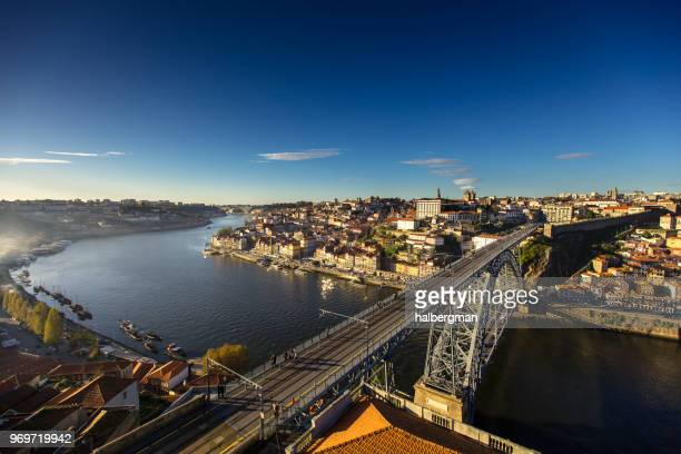 Clear Blue Skies Over Porto