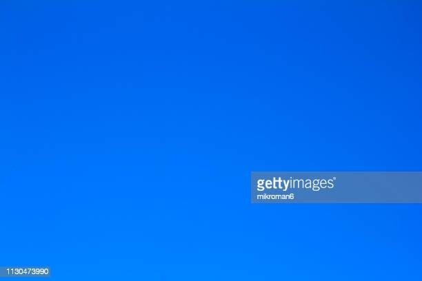 clear, blue sky - blue background gradient stock pictures, royalty-free photos & images