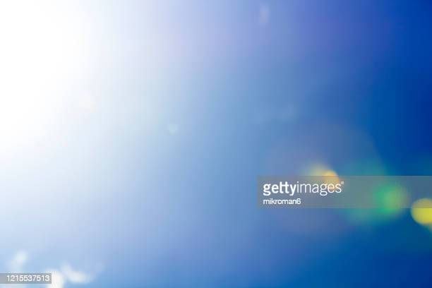 clear, blue sky - clear sky stock pictures, royalty-free photos & images