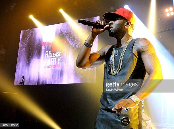 Clear Channel presents an exclusive performance and album release party with Jason Derulo as part of the iHeartRadio Live series at the iHeartRadio...