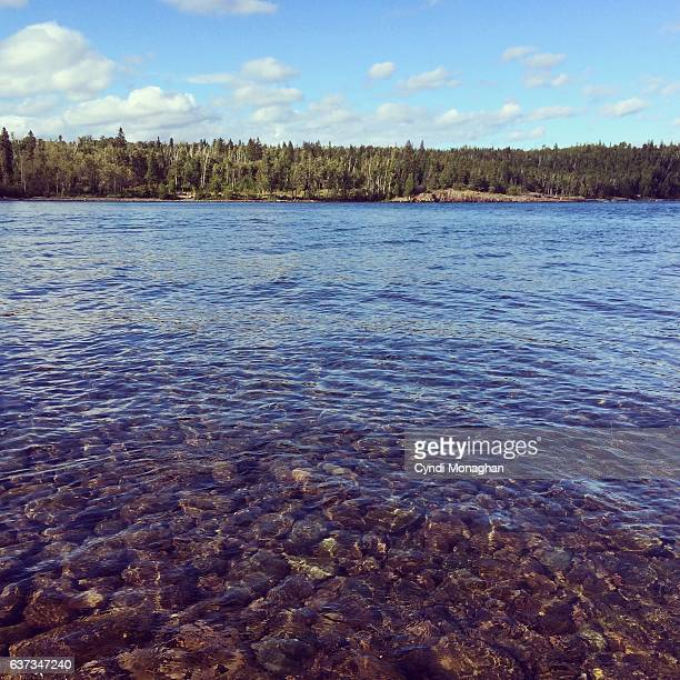 Clear Fresh Water in Lake Superior