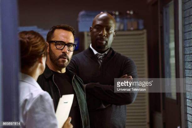 CROWD 'Clear History' Episode 105 Pictured Jeremy Piven as Jeffrey Tanner Richard T Jones as Detective Tommy Cavanaugh