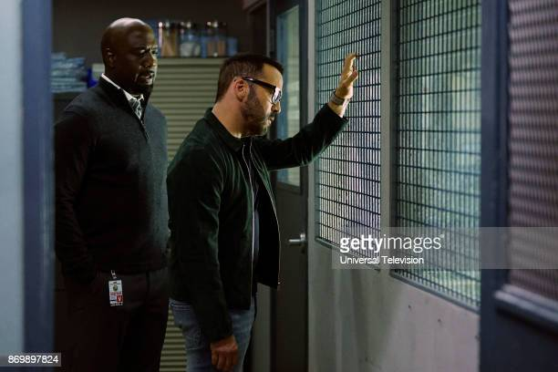 CROWD 'Clear History' Episode 105 Pictured Richard T Jones as Detective Tommy Cavanaugh Jeremy Piven as Jeffrey Tanner