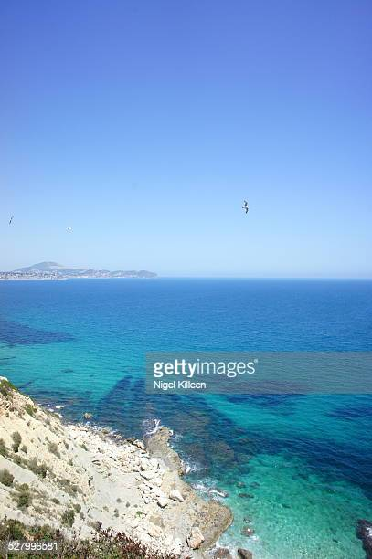 Clear Mediterranean sea, Calp, Spain