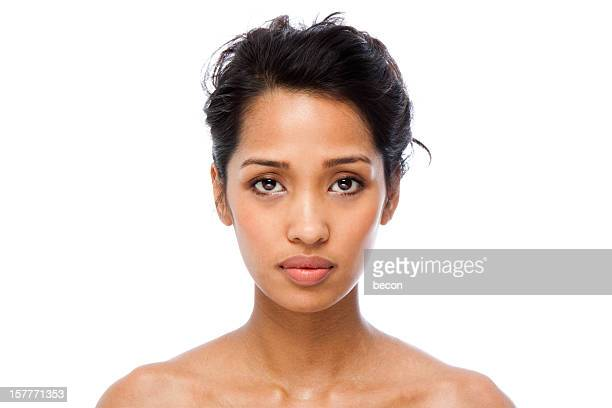 clear skin - beautiful filipino women stock photos and pictures