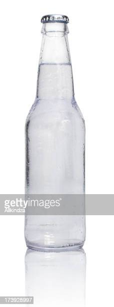 clear soda with reflection