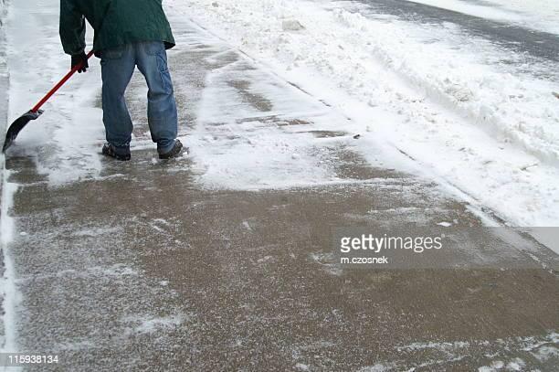 クリアの歩道