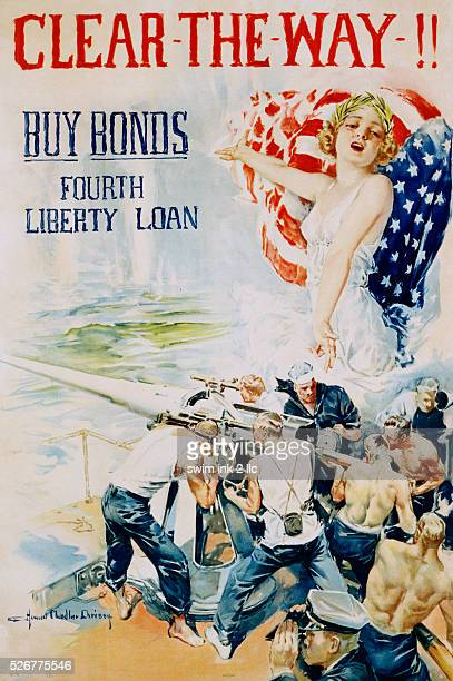 Clear the Way Poster by Howard Chandler Christy
