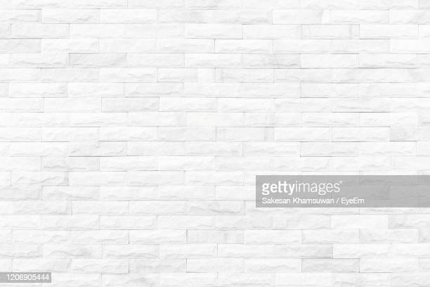 clear white stone wall - brick stock pictures, royalty-free photos & images