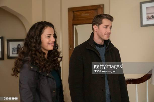MANIFEST Cleared for Approach Episode 113 Pictured Athena Karkanis as Grace Stone Josh Dallas as Ben Stone