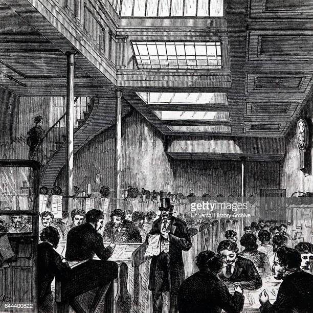 Clearing House at the Bank of England London 1881