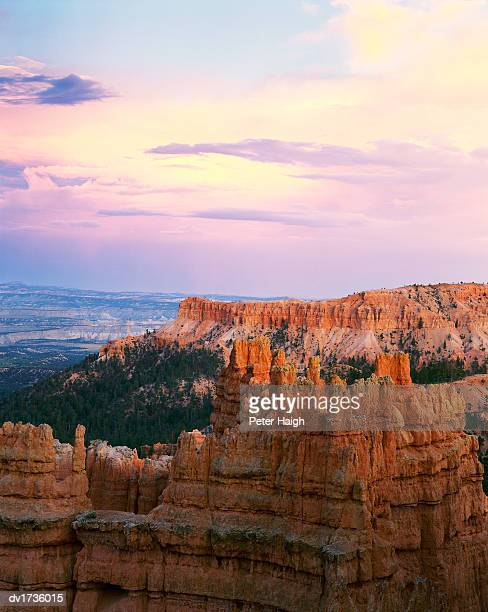 clearing storm, bryce canyon national park, utah, usa - travel14 stock pictures, royalty-free photos & images