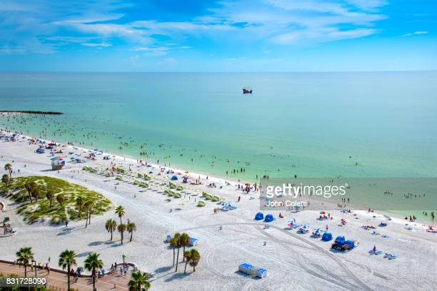 clearwater beach, florida - clearwater florida stock pictures, royalty-free photos & images