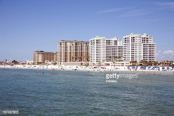 clearwater beach - st. petersburg florida stock pictures, royalty-free photos & images