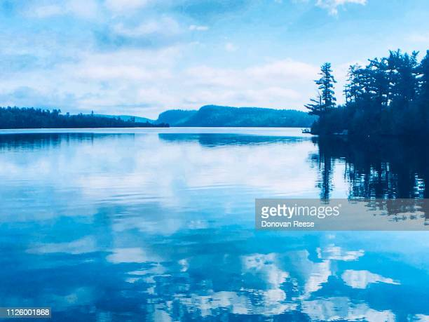 clearwater lake   minnesota - boundary waters canoe area stock pictures, royalty-free photos & images