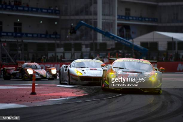 Clearwater Racing during the 6 Hours of Mexico Practice as part of FIA World Endurance Championship at Hermanos Rodriguez Race Track on September 03...
