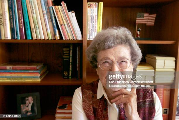 Cleary at home in Carmel Valley.Beverly Cleary, the author of such revered children®s books as the Ramona series, the Ralph S. Mouse series and the...