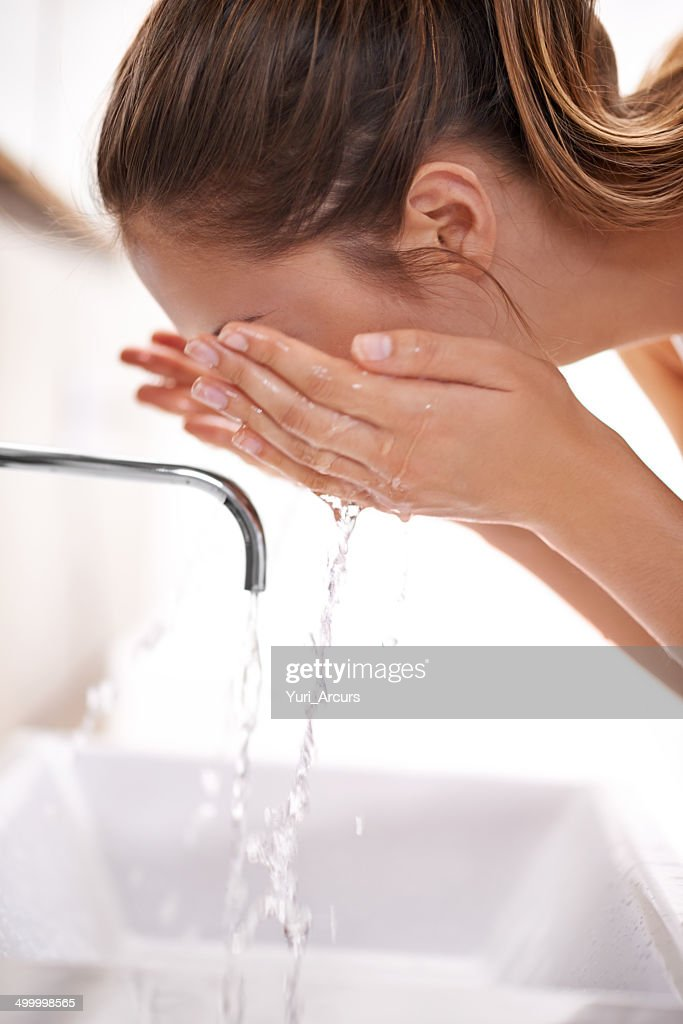 Cleasning and refreshing : Stock Photo