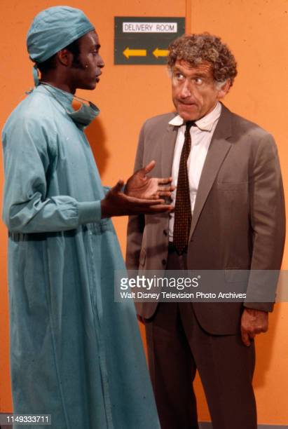 Cleavon Little James Whitmore appearing on the ABC tv series 'The New Temperatures Rising Show' episode 'Operation Fastball'