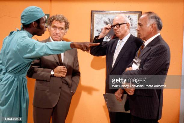 Cleavon Little James Whitmore John Gallaudet Edward Platt appearing on the ABC tv series 'The New Temperatures Rising Show' episode 'Operation...