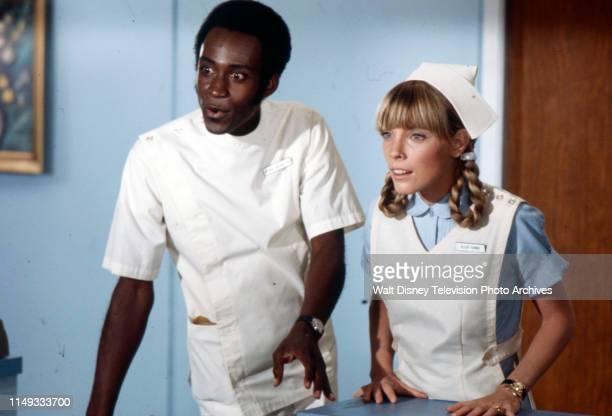 Cleavon Little Nancy Fox appearing on the ABC tv series 'The New Temperatures Rising Show' episode 'Operation Fastball'