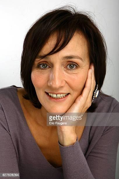 Clelia Ventura on the set of TV show Les Grands du Rire