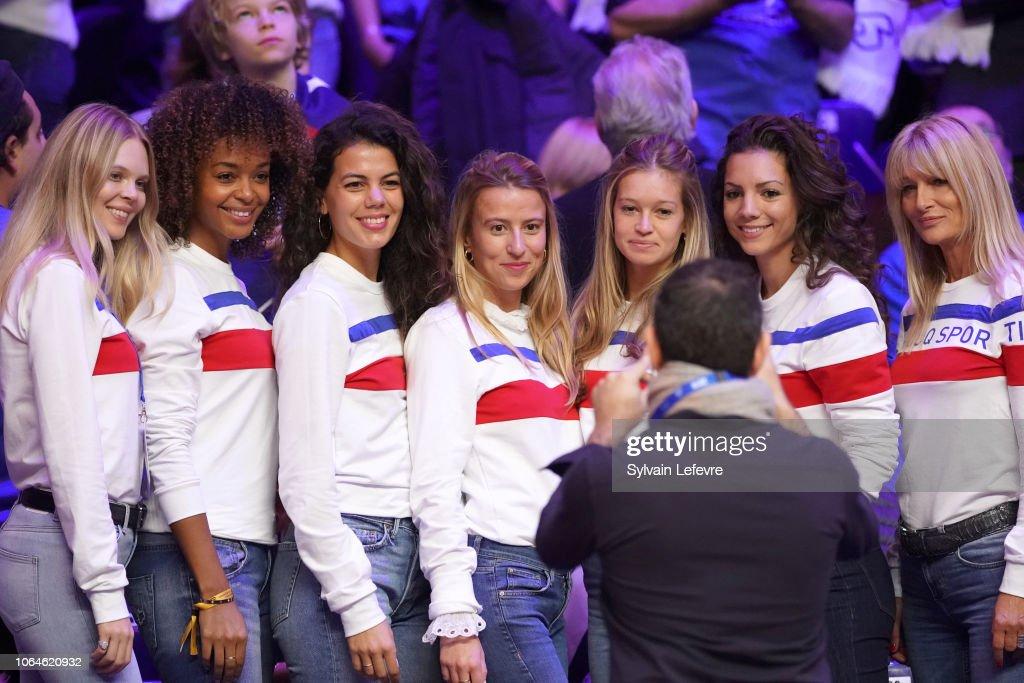 France v Croatia - Davis Cup Final: Day One : News Photo