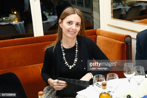 Clemence Krzentowski attends the Mastermind Magazine launch dinner as part of Paris Fashion Week Womenswear Fall/Winter 2017/2018 at Loulou...