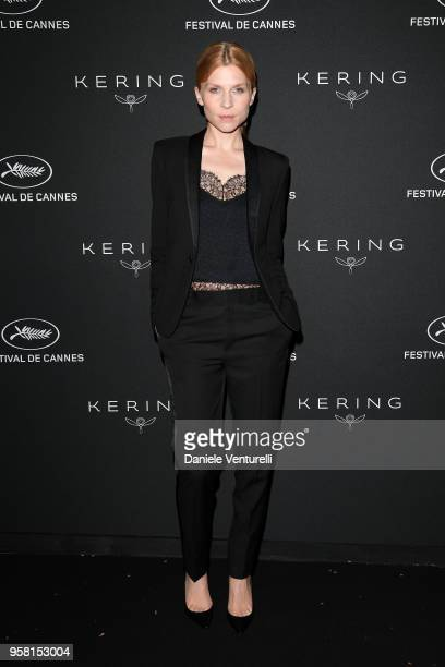 Clemence Poesie attends the Women in Motion Awards Dinner, presented by Kering and the 71th Cannes Film Festival, at Place de la Castre on May 13,...