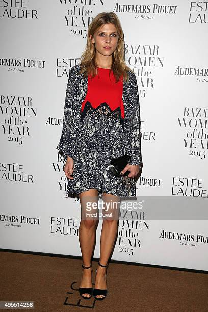 Clemence Poesy attends Harper's Bazaar Women of the Year Awards at Claridge's Hotel on November 3 2015 in London England