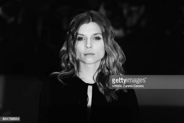 Clemence Poesy attends the 'Final Portrait' premiere during the 67th Berlinale International Film Festival Berlin at Berlinale Palace on February 11...