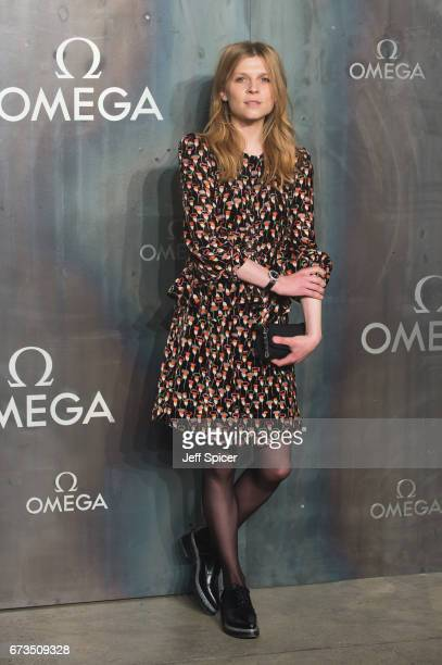 Clemence Poesy attends the Lost In Space event to celebrate the 60th anniversary of the OMEGA Speedmaster which has been worn by every piloted NASA...