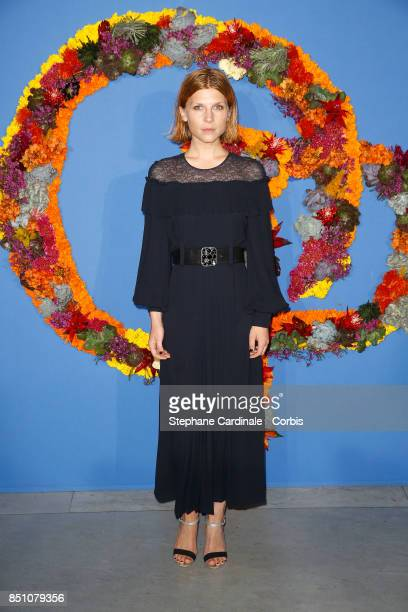 Clemence Poesy attends the Opening Season Gala at Opera Garnier on September 21 2017 in Paris France