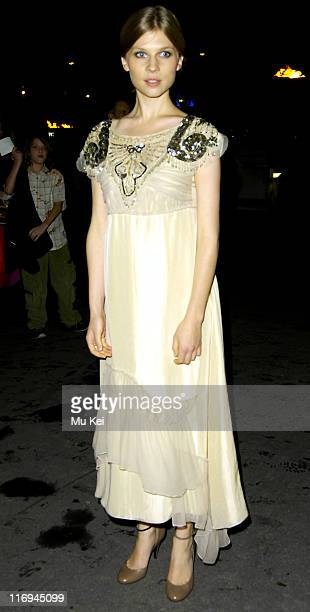 Clemence Poesy during 'Harry Potter and the Goblet of Fire' World Premiere After Party at Natural History Museum in London Great Britain