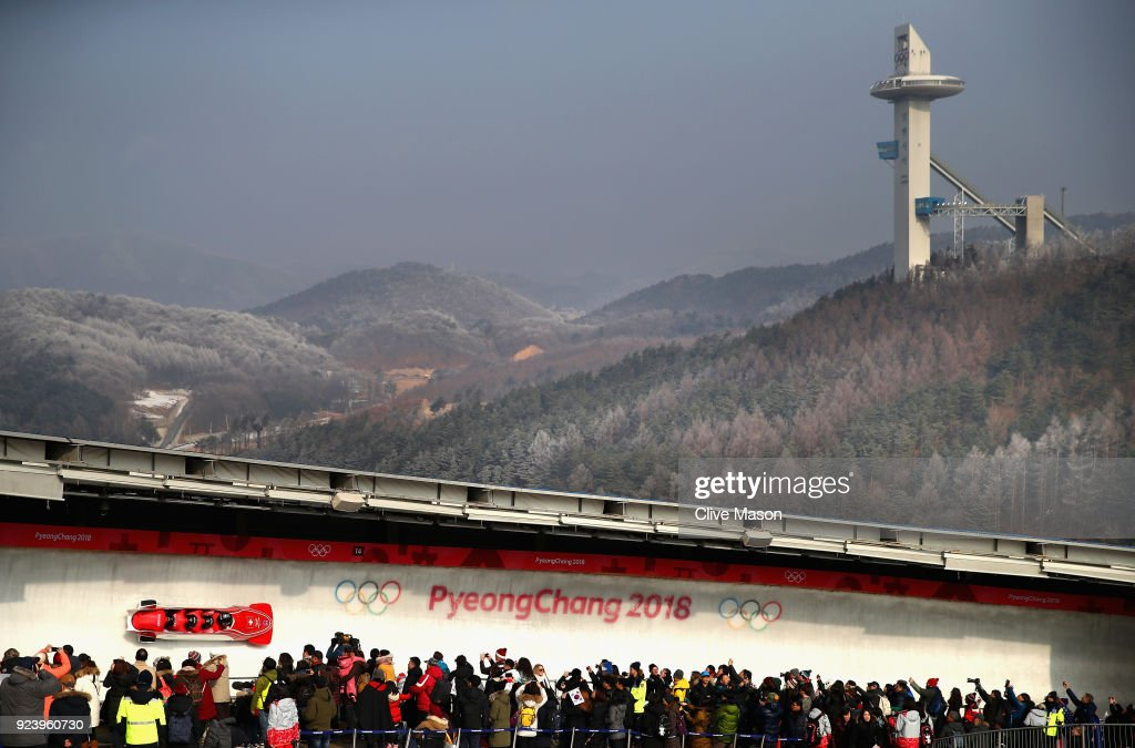KOR: Winter Olympics - Best of Day 16