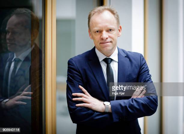 Clemens Fuest President of the Ifo Institute for Economic Research is pictured on January 17 2018 in Berlin Germany