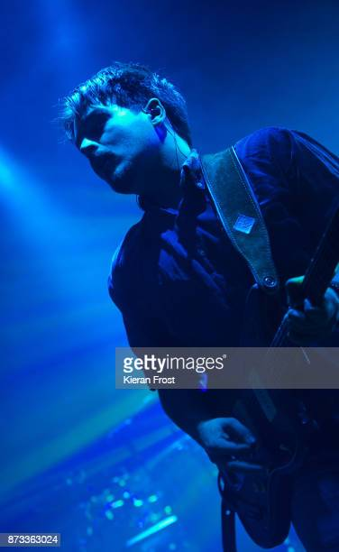Clemens Rehbein of Milky Chance performs live at Vicar Street on November 12, 2017 in Dublin, Ireland.