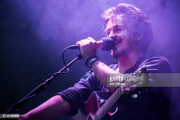 Clemens Rehbein of Milky Chance performs live on stage at the Traumzeit Festival on June 18 2017 in Duisburg Germany