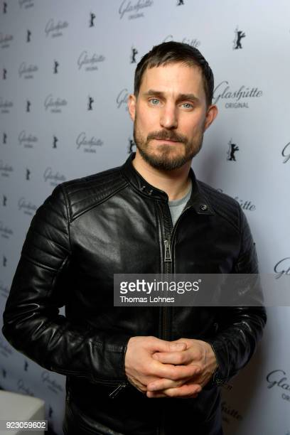 Clemens Schick attends the Glashuette Original Lounge at The 68th Berlinale International Film Festival at Grand Hyatt Hotel on February 22 2018 in...