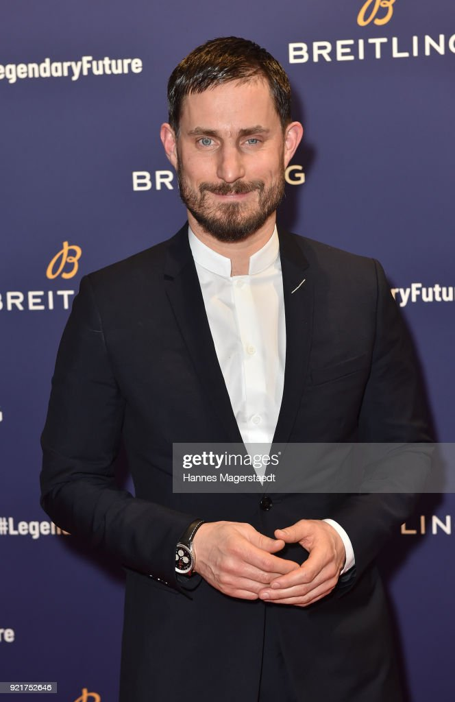 Clemens Schick during the Breitling Roadshow '#LEGENDARYFUTURE' Navitimer 8 at Freiheizhalle on February 20, 2018 in Munich, Germany.