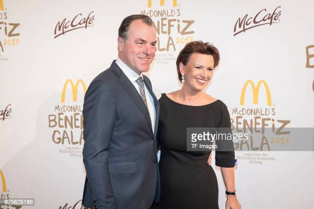 Clemens Tnnies and Margit Tnnies attends the McDonald's charity gala at Hotel Bayerischer Hof on November 10, 2017 in Munich, Germany.