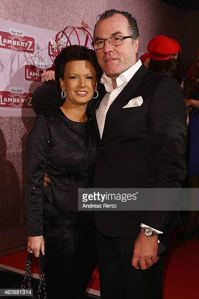 Clemens Toennies and his wife Margit Toennies arrive for the Lambertz Monday Night 2015 at Alter Wartesaal on February 2, 2015 in Cologne, Germany.