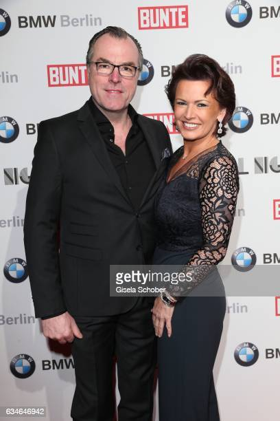Clemens Toennies and his wife Margit Toennies during the BUNTE & BMW Festival Night during the 67th Berlinale International Film Festival Berlin at...